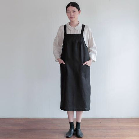 Salon Apron - Black by Fog Linen