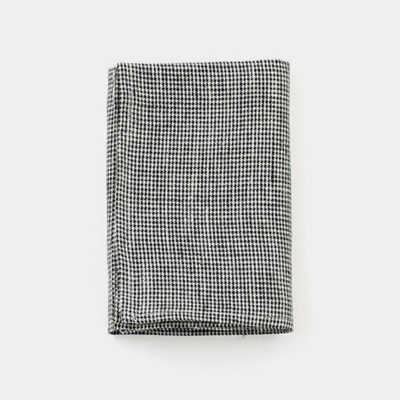 Black & White Houndstooth Kitchen Cloth