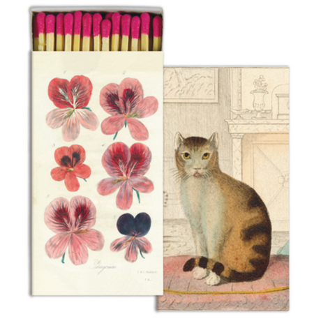 Perlargonium & Calm Cat Matches by John Derian