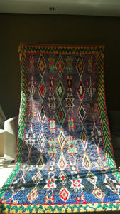 Mesmerizing  Authentic Vintage Moroccan Rug!