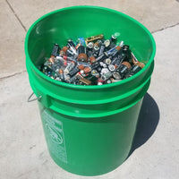 Recycling Services - 5 Gallon Bucket of Alkaline Mixed Batteries