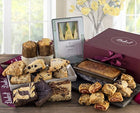 Dulcet's Food Deluxe Gift Basket- Includes Scones, Cheese Brownie, Fudge Brow...
