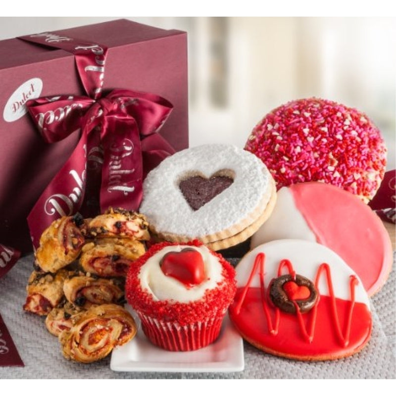 Heart Cookie and Cupcake Box