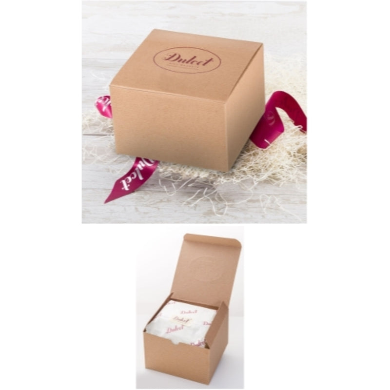 Holiday Festive Gift Kraft Box