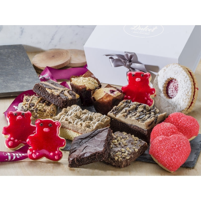Valentine Day Classic Cookie Assortment Gift Basket