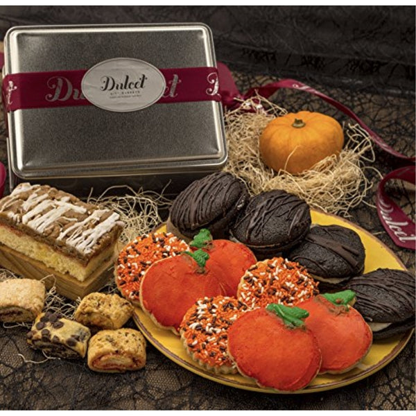 Harvest Cookie and Treats Assortment Tin.