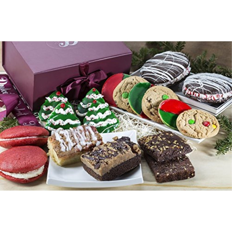 Holiday Gift Box Filled with Treats