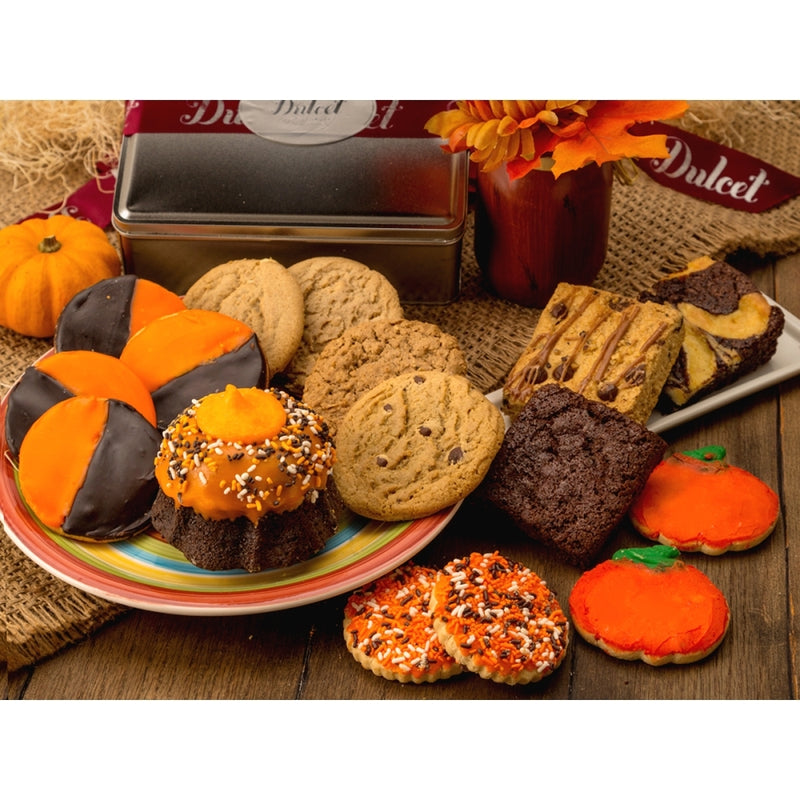 Autumn Favorite Treat Tin