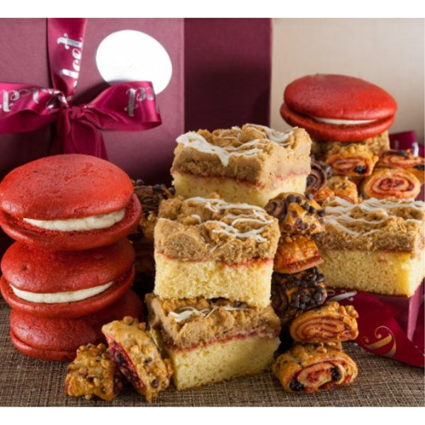 Get Well Classic Bakery Raspberry Gourmet Gift Box