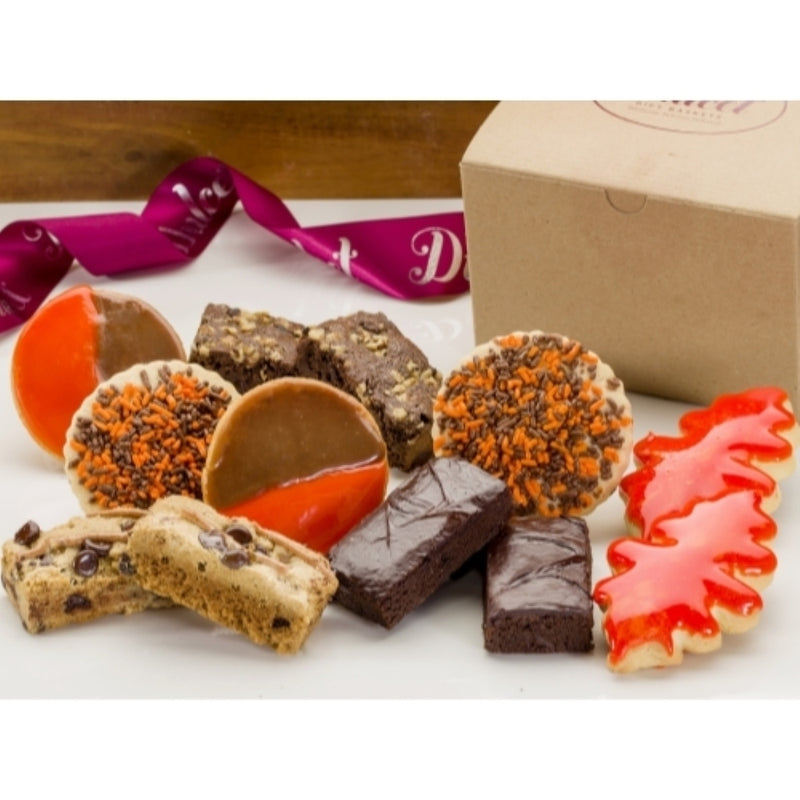 Autumn Dessert Cookie Box