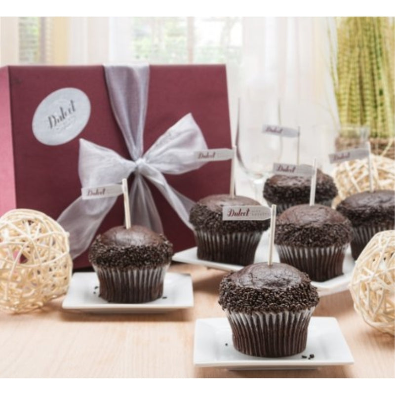 Chocolate Fudge Cupcake Gift Box