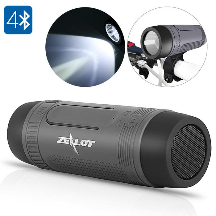 Zealot Bluetooth Speaker Bike Light - EmartPal