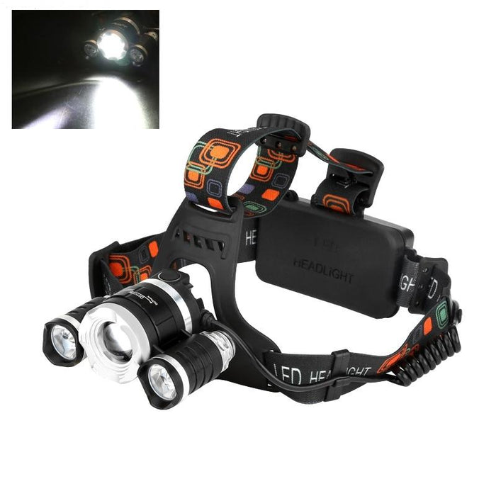 3 CREE XM-L T6 LED Headlamp- EmartPal