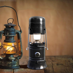 Bluetooth Speaker  LED Lantern for Camping, Hiking - emartpal