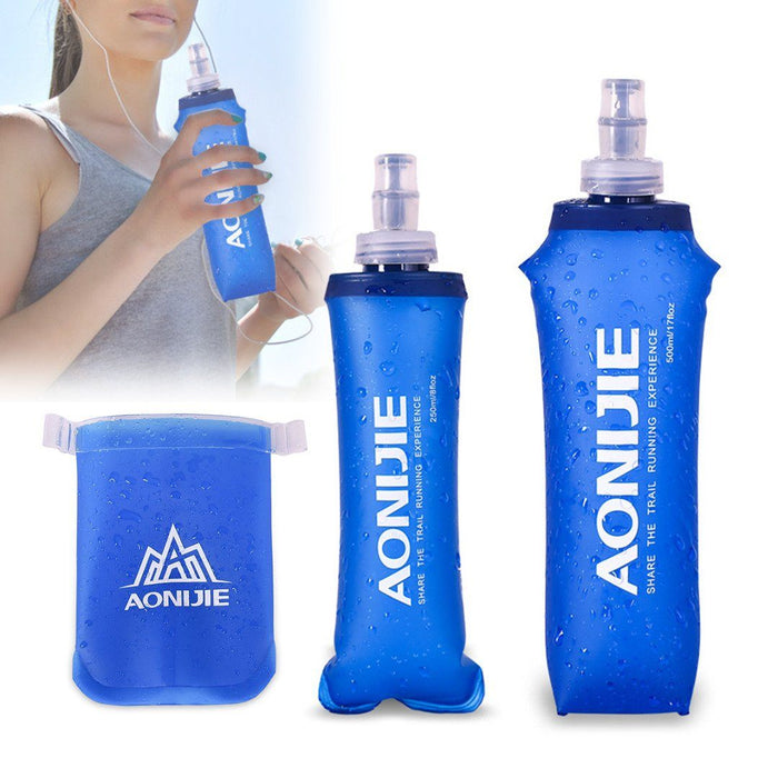 Portable Outdoor Foldable TPU Water Bottle Bag - emartpal