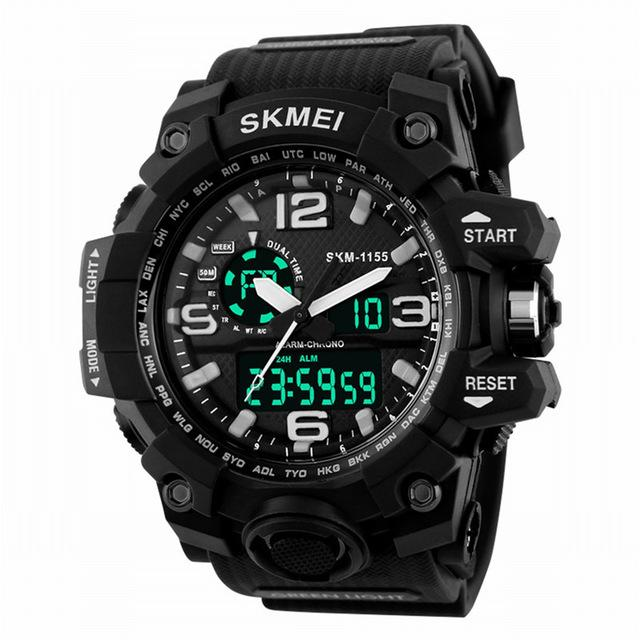 SKMEI Tactical Watch - Waterproof & Shockproof - emartpal