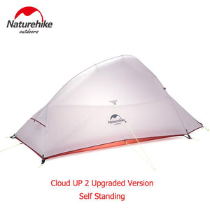Naturehike CloudUp Series Ultralight Tent For 2 Person With Mat