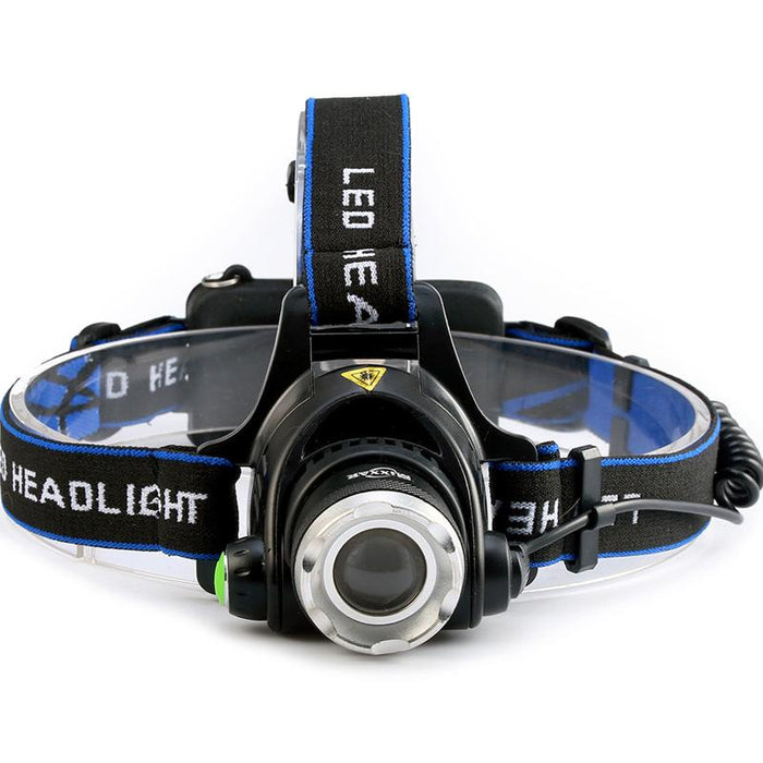 3800LM Cree XM-L T6 LED Headlamp-EmartPal