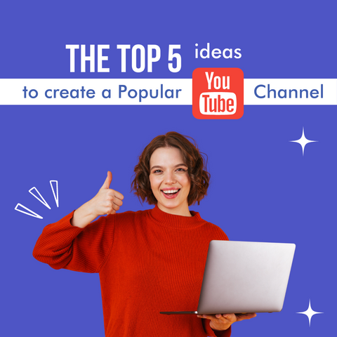 5 topic ideas to create a popular Youtube channel - Social Growth Engine