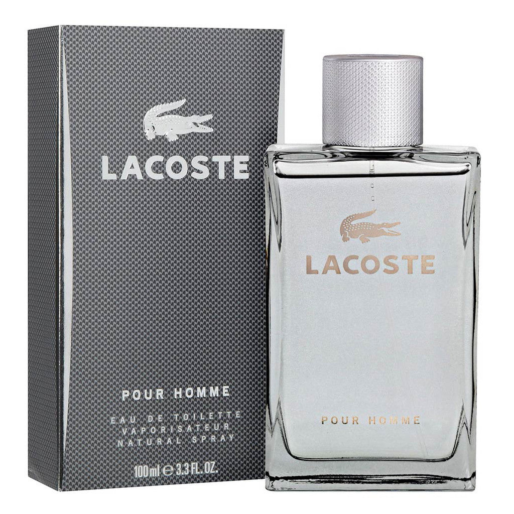 Lacoste Homme Grey 100ML EDT Spray (M)