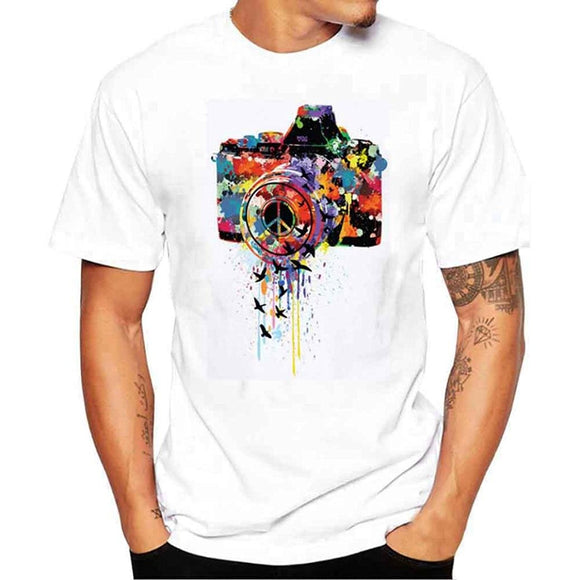 CK Colorful Camera Tee - City Killerz