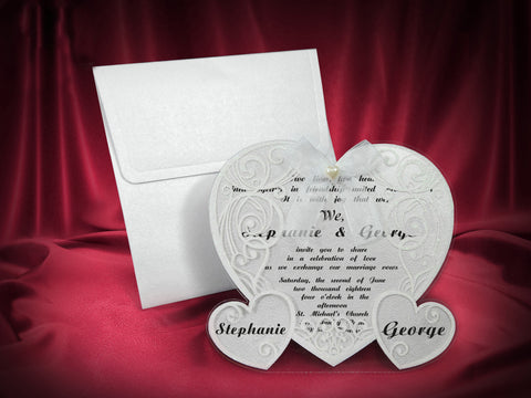 luxury wedding cards