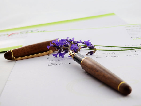 Lavender Flower On Wedding Invitation