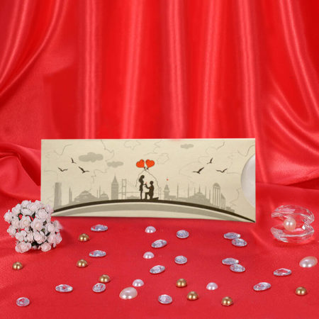 mosque themed wedding cards