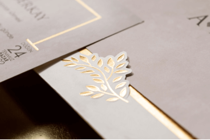 gold floral wedding invitations uk