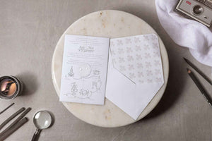 luxury vellum wedding invitations