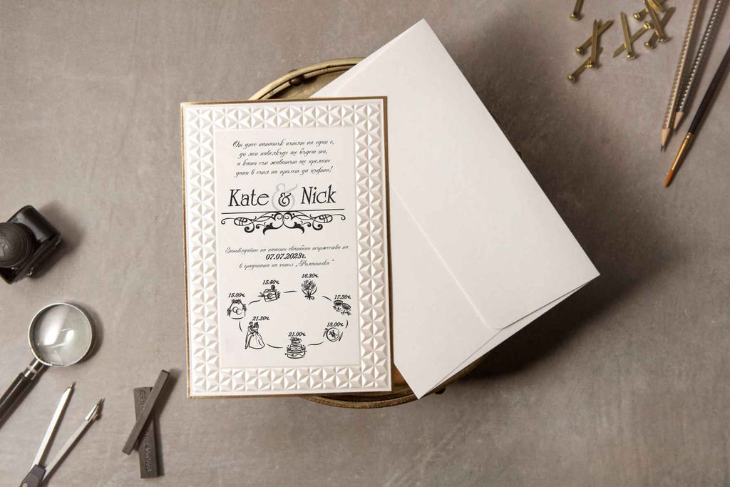 luxury traditional wedding invitations