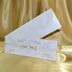 luxury acrylic wedding invitations