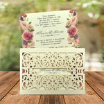 rustic wedding invitations