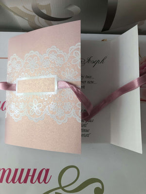 blush pink wedding invitations uk  - weddingcardsuk.com