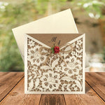 Laser Cut Pocket Wedding Invitations - weddingcardsuk.com