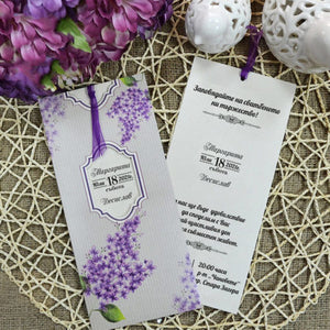 lilac wedding invitations uk - weddingcardsuk.com