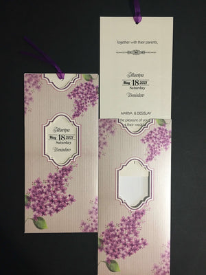lilac wedding invitations - weddingcardsuk.com