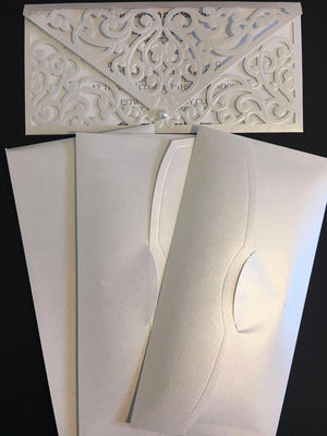 Laser Cut Envelope - weddingcardsuk.com