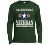Image of American Flag US Airforce Veteran Defender Of Freedom Shirt Veteran Day shirt and hoodie