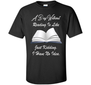A day without reading is like.. funny bookworm T-shirt Read a Book Day great shirt