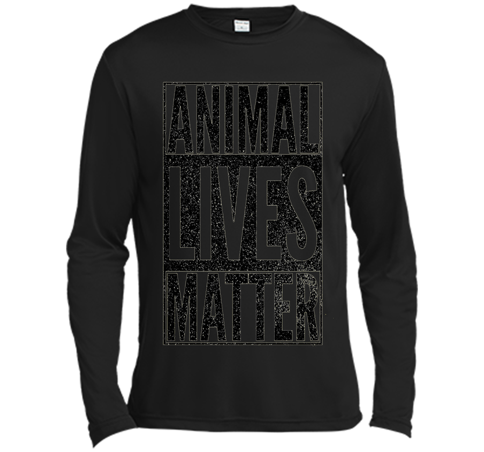 ANIMAL LIVES MATTER Fun Cool Zoo Lover T-Shirt Gift Halloween awesome tee