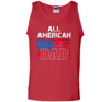 Image of All American Dad Flag Patriotic Shirt Gift For Fathers Veteran Day t-shirt