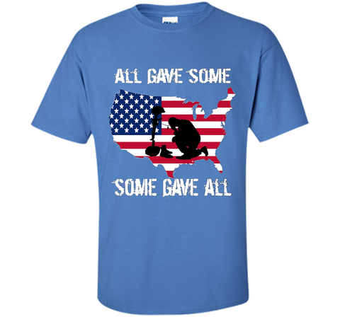 All Gave Some Some Gave All Military - Memorial Day T-Shirt Veteran Day cool shirt