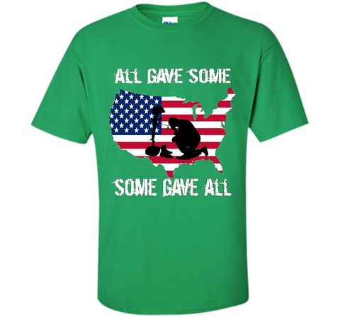 All Gave Some Some Gave All Military - Memorial Day T-Shirt Veteran Day cool shir