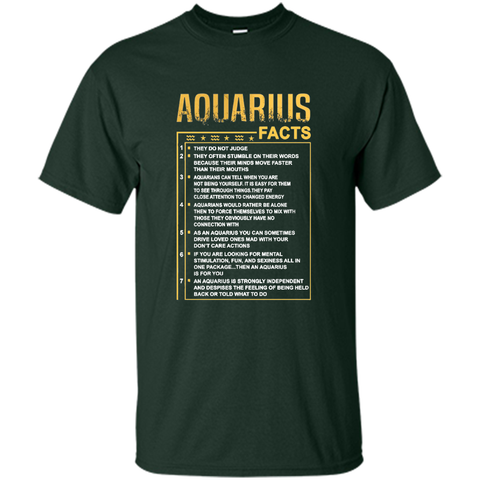 7 facts aquarius zodiac sign Shirts & Hoodie