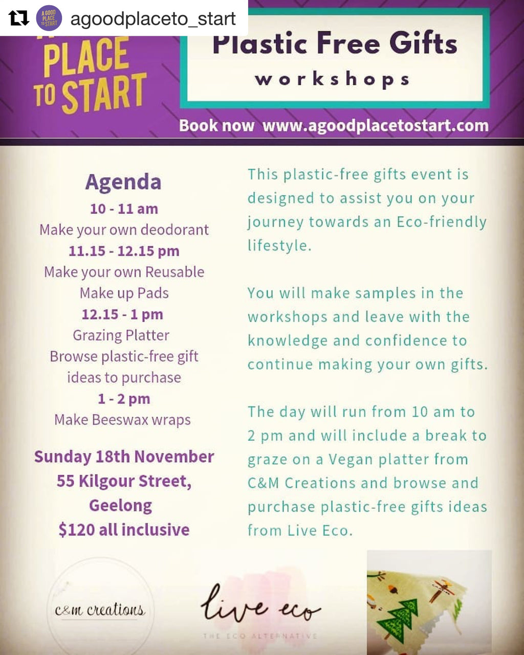 Plastic Free Gifts Workshop