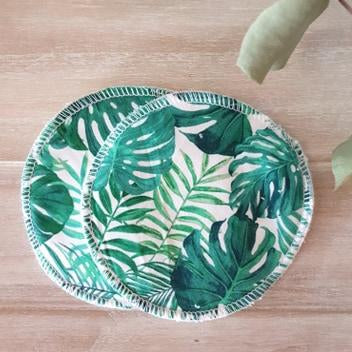 Flo-&-O-Reusable-Nursing-Green-Palm-Leaves