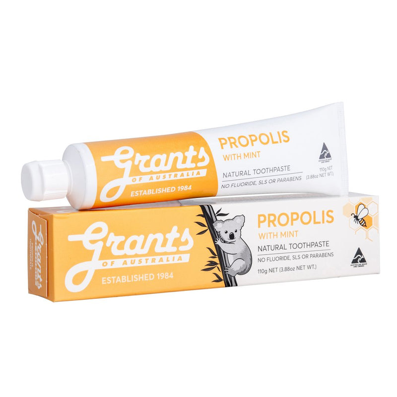 Grants Toothpaste 110g - Mild Mint, Fresh Mint, Propolis, Whitening