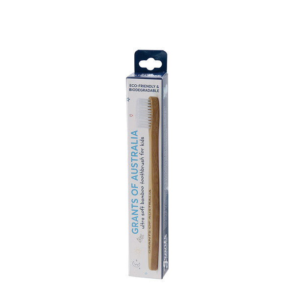 Grants Kids Bamboo Toothbrush - Ultra Soft