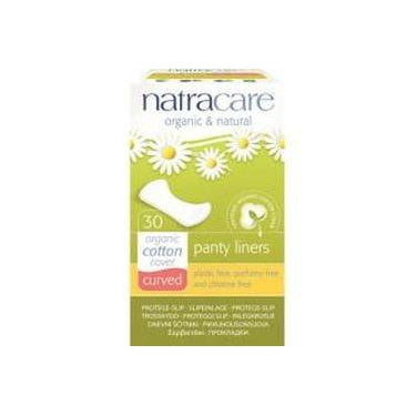 Natracare Organic Cotton Curved Panty Liners x 30